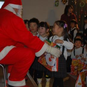 クリスマス会がありました・・・