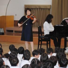 ヴァイオリンの音ってどんなかな?