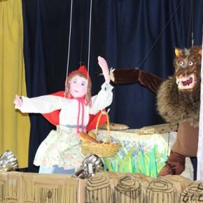 人形劇 おもしろかったよ!
