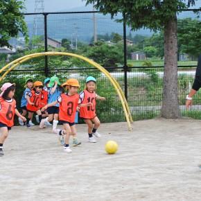 サッカーっておもしろいね!