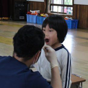歯科検診・身体測定実施