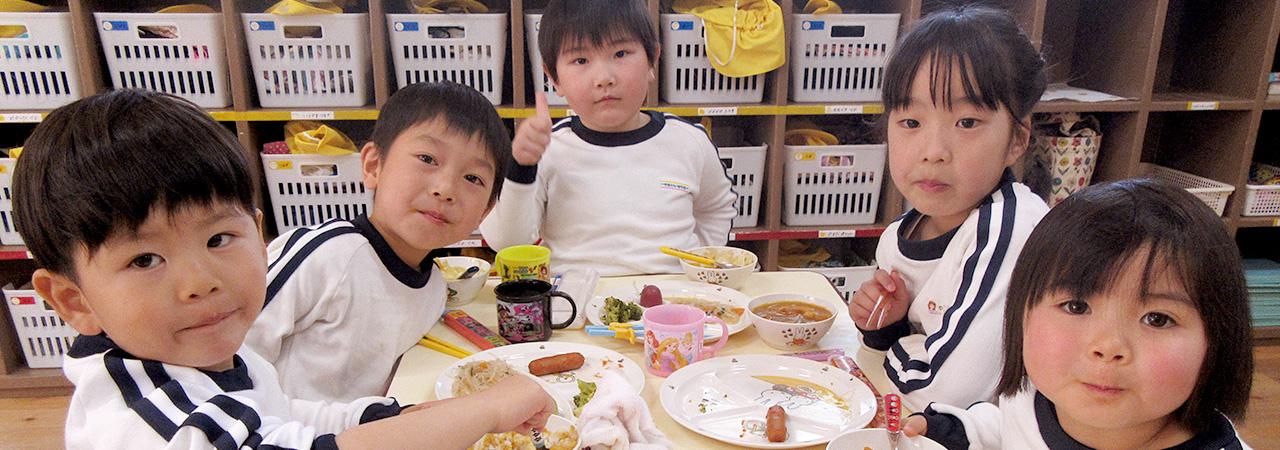 白百合幼稚園 給食